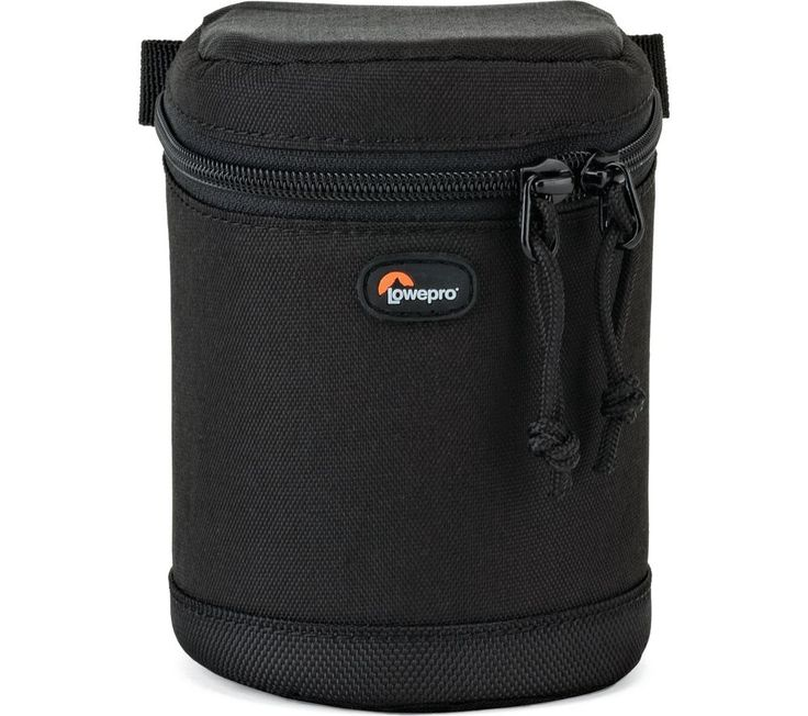 Buy LOWEPRO LP36978 8 x 12 cm Lens Case - Black, Black Price: £20.00 Top features: - Protect your lens with the padded case - Dual overlap zips protect from dust and moisture - Attach to your belt or compatible pack for easy carrying Protect your lensSecure your mid-range zoom lens with the padded Lowepro LP36978 8 x 12 cm Lens Case. The sturdy but lightweight design will help keep your lens...