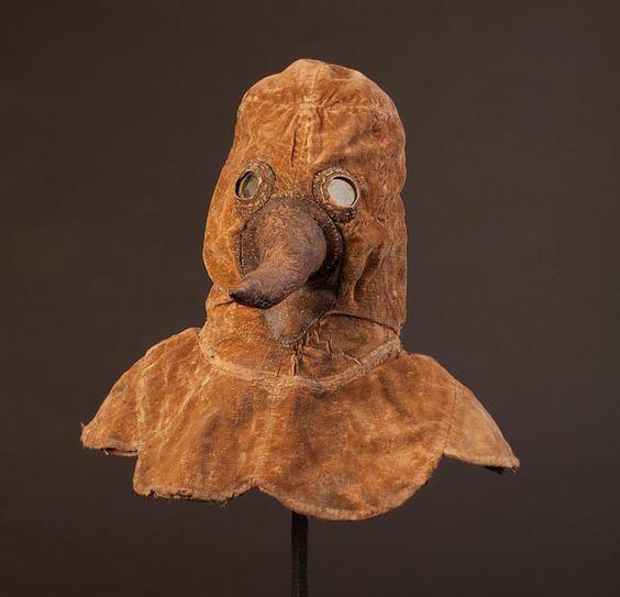 Plague doctor's mask, Berlin.