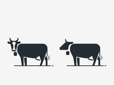 cow / Icons / Symbols / Pictograms / animal