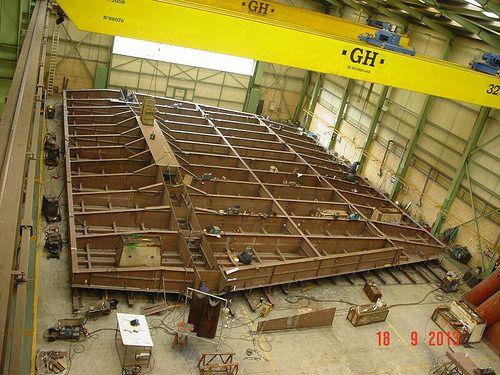 gigant steel platform structure