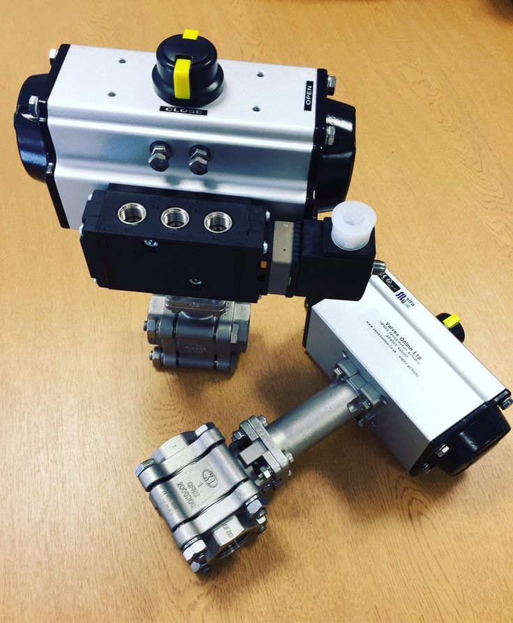 Pneumatic Actuated Screwed Ball Valve for Steam http://www.valvesonline.co.uk/pneumatic-actuated-screwed-ball-valve-for-steam.html #steam #valve #actuatedballvalve #actuatedvalve #pneumatic #pneumaticactuator #engineering