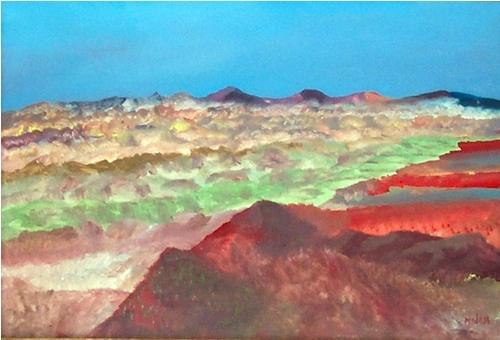 Landscape II, Sidney Nolan
