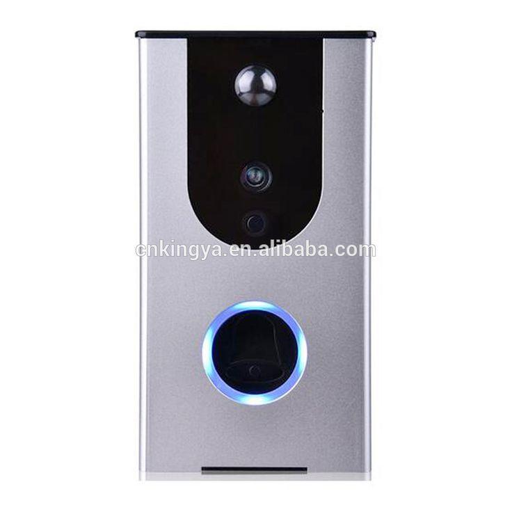 KINGYA Wireless Wifi Video Door Phone Intercom 720P HD 1.0MP indoor Camera IP Doorphone Doorbell System P2P Controlled by App