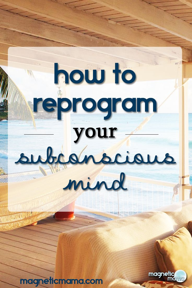 Your subconscious mind is being programmed all the time, and in turn creating your reality... How to create the reality you want using the Law of Attraction. Reprogram your subconscious mind to remove self sabotage and create the life you love.