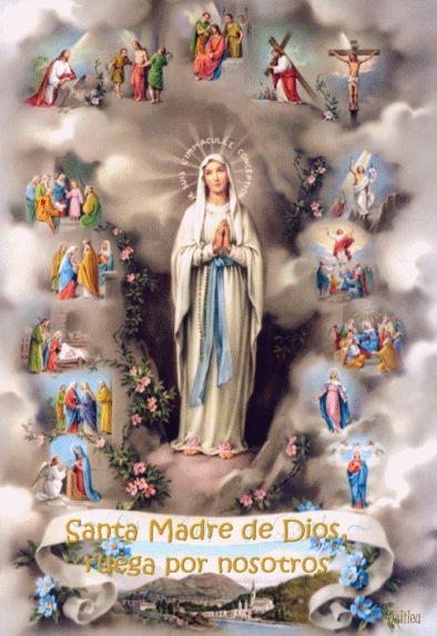 IMAGENES RELIGIOSAS: Madrecita ruega por nosotros