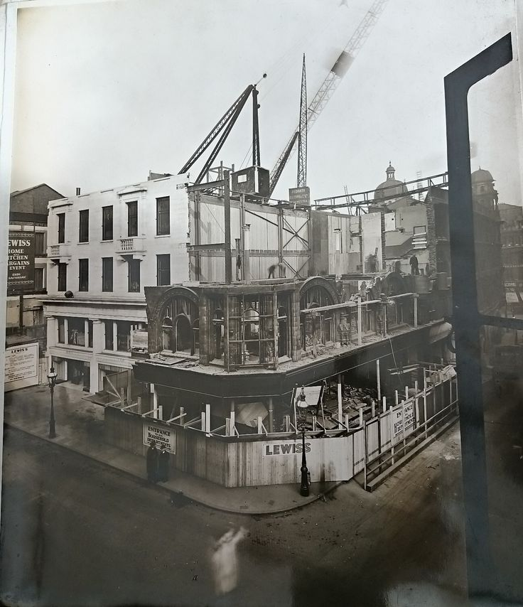 The Building of Lewis's Birmingham 26th October 1931