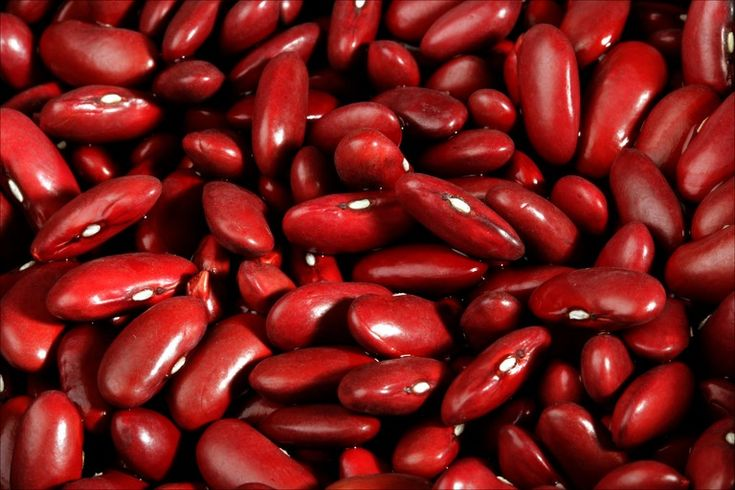 Kidney beans are high in fiber, practically nonfat, and provide a slow, seady stream of energy.
