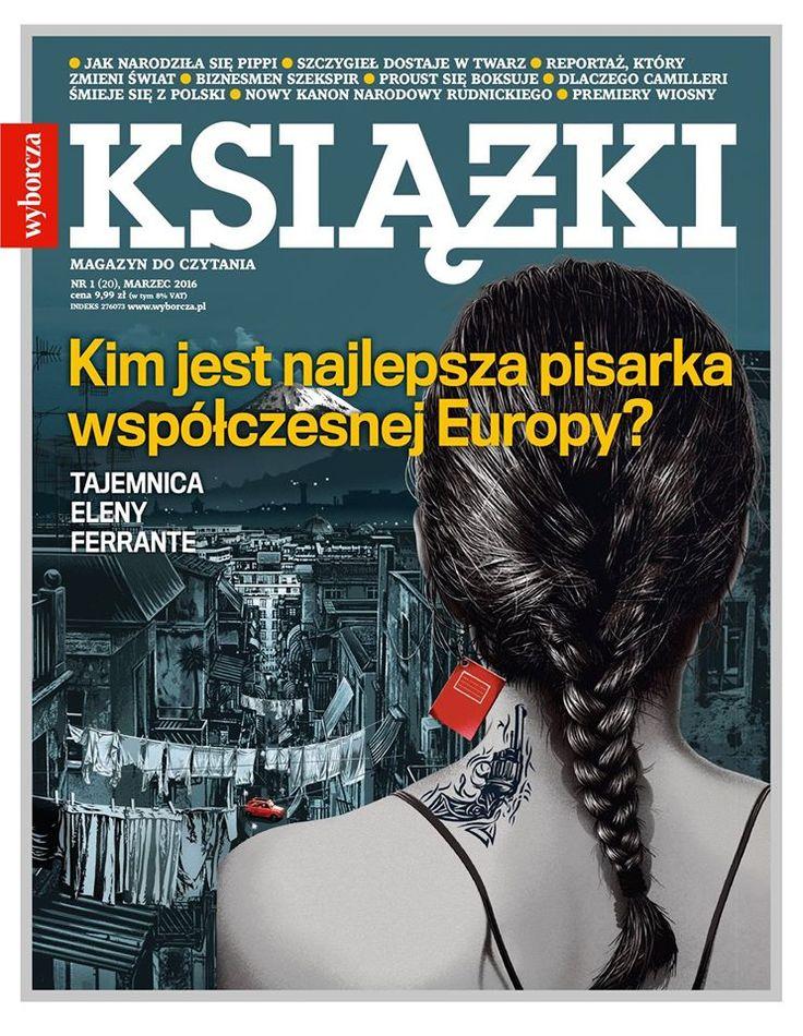 """Nowy numer """"Książek. Magazynu do Czytania"""" w sprzedaży od 23 lutego 2016 Rys. Piotr Chatkowski"""