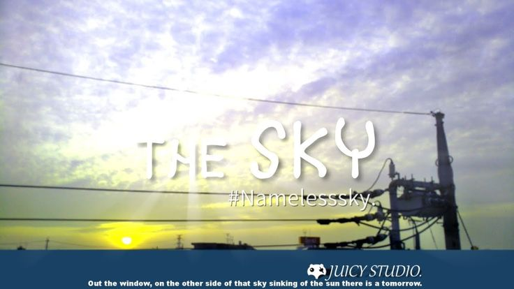 【 Relax - Timelapse 】 The SKY #Namelesssky. - April sky 2017.