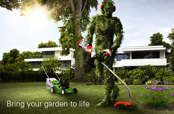 STIHL 'Bring your garden to life' campaign