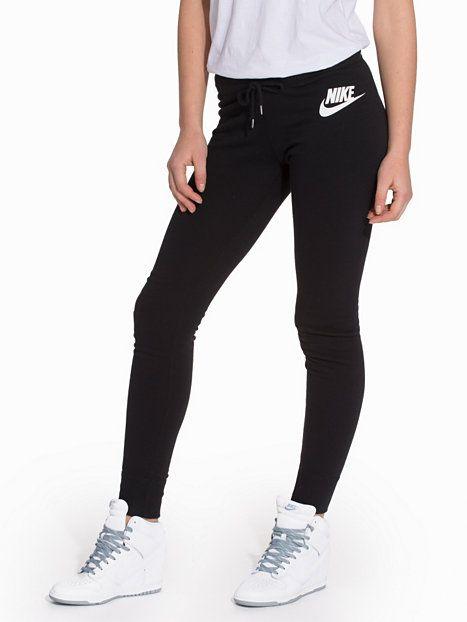 Nike Rally Pant Tight - Nike - Svart - Byxor & Shorts - Kläder - Kvinna - Nelly.com