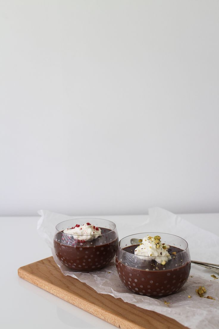Dark Chocolate and Cardamon Puddings | Made From Scratch