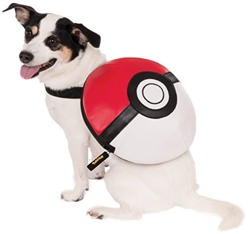 Pokemon Poke Ball Backpack Dog Costume