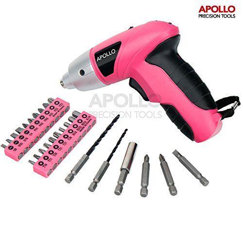 Apollo Elektrischer 4.8V Akku-Schraubendreher in Pink mit... https://www.amazon.de/dp/B01G4LP05I/ref=cm_sw_r_pi_dp_x_pL1HzbF67W5A8
