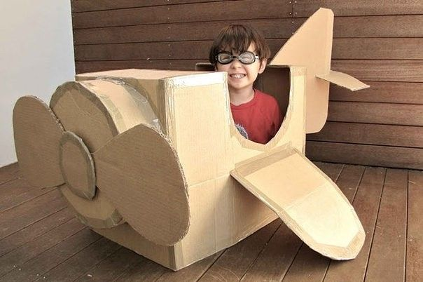 Crafts for children from cardboard boxes | Picturescrafts.com