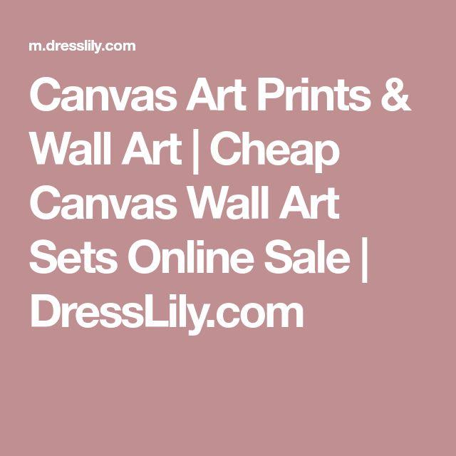 Canvas Art Prints & Wall Art | Cheap Canvas Wall Art Sets Online Sale | DressLily.com