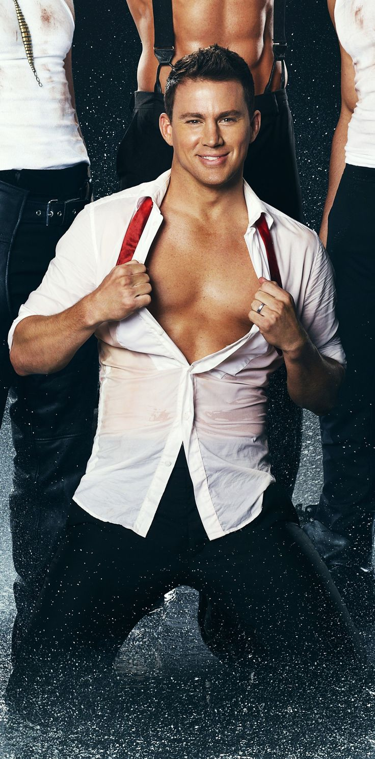Channing Tatum...the most beautiful man to ever walk this earth.