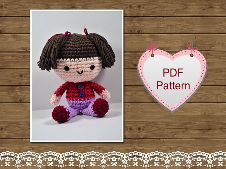 Crochet Amigurumi Doll Free : Amigurumi doll in butterfly costume amigurumi today
