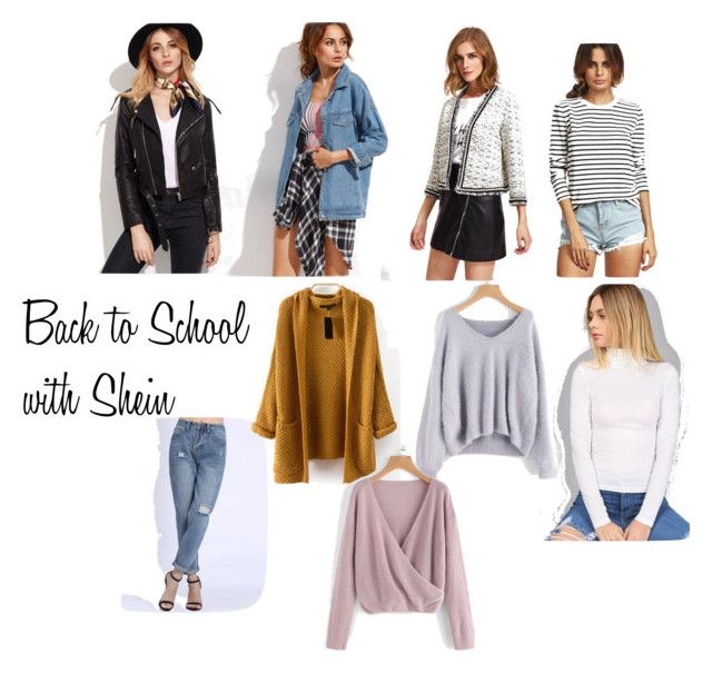 Back to School with Shein by samantha-nicole-rivera on Polyvore