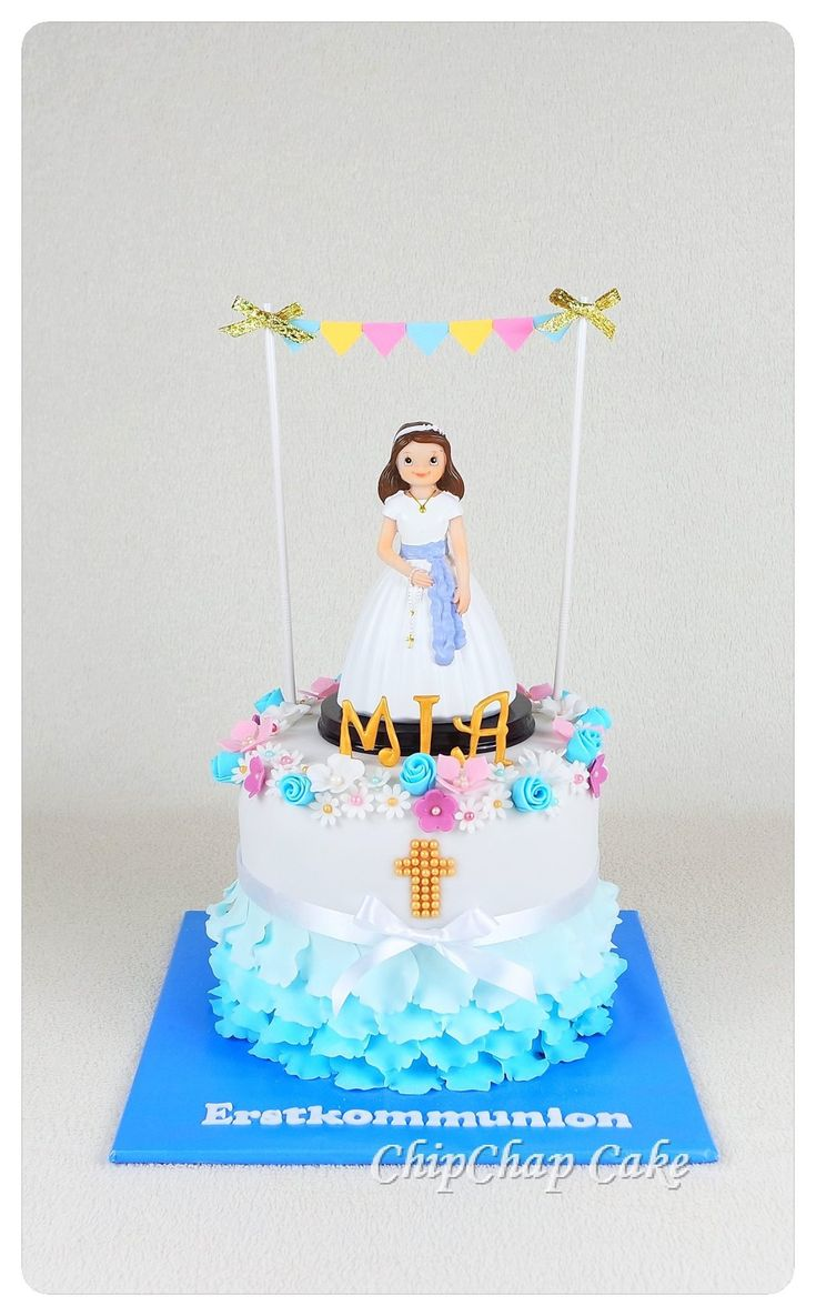 First communion- erste Kommunion Cake (from fb: Hannover ChipChap Cake)