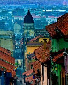 Barrio la Candelaria  -Bogota
