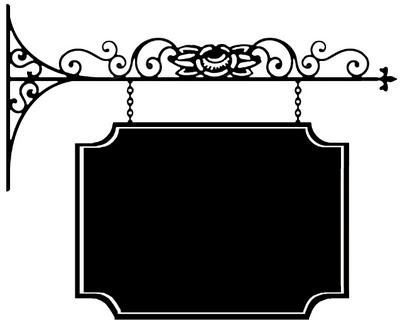 blank fancy sign templates