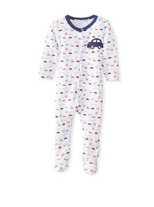 56% OFF Rumble Tumble Baby Car Long Sleeve Coverall (White)