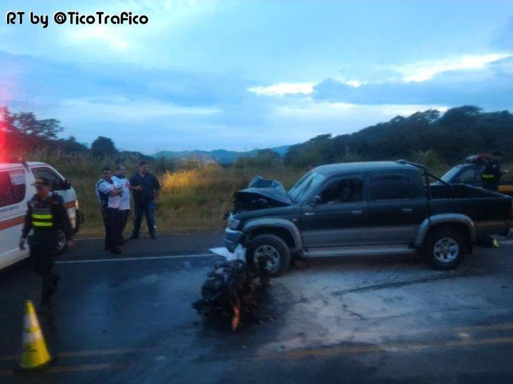 Motociclista falleció en accidente en Desamparados