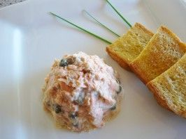 Spicy Potted Salmon With Capers