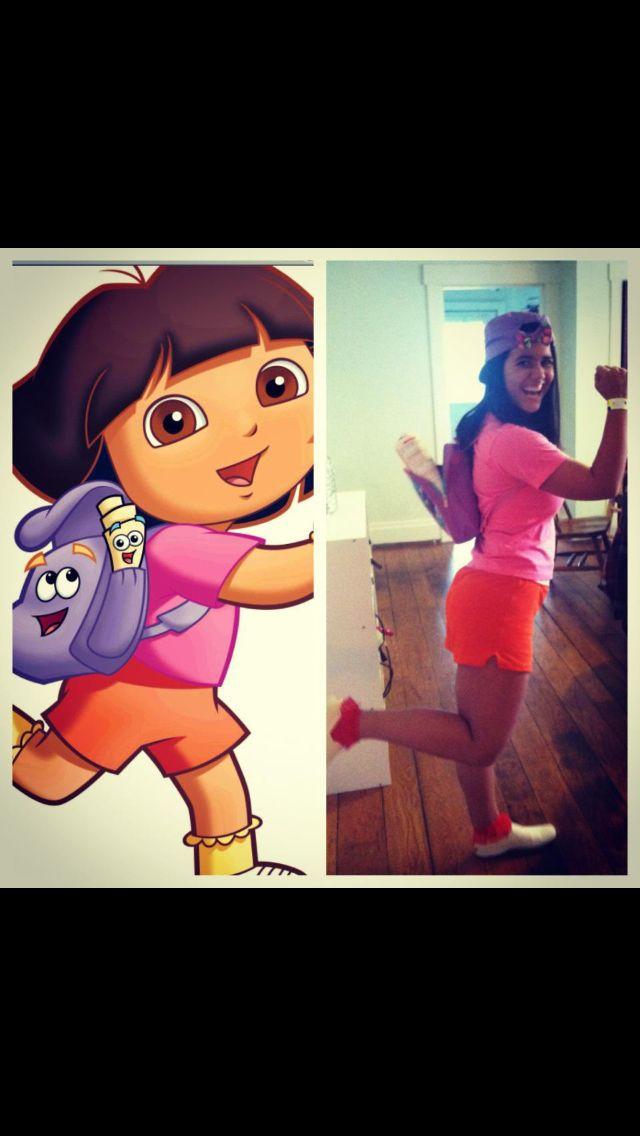 Dora the explorer Halloween costume!