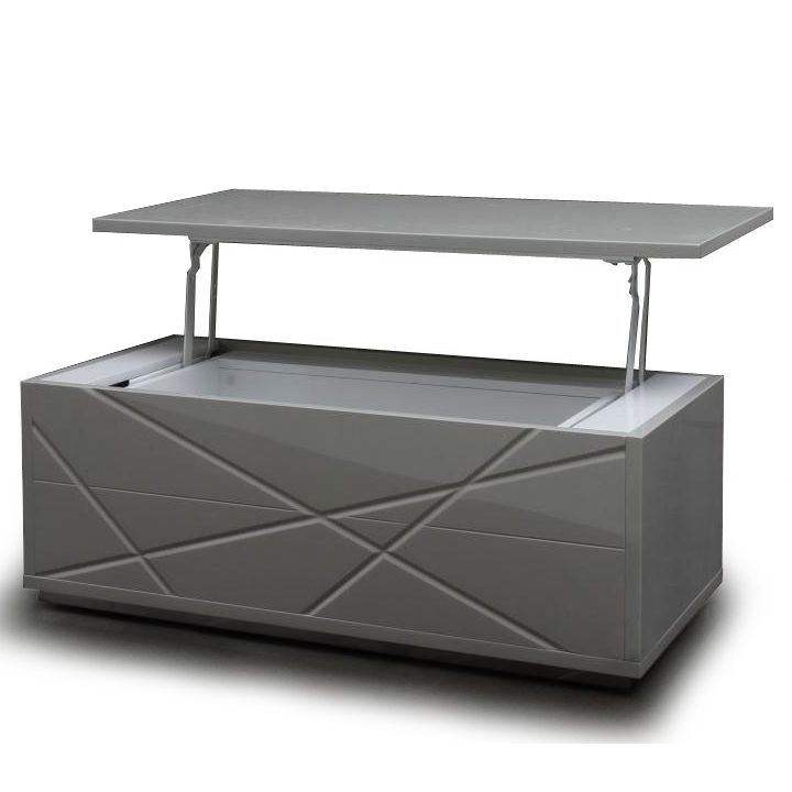 Modern gray lacquer convertible coffee table with storage Kaga. Lift Top ... - 171 Best Images About Contemporary Coffee Tables On Pinterest