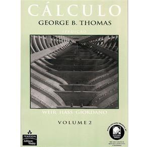 UVA- Me Salva (PROVAS): Livro - Cálculo - Volume 2 - George B. Thomas