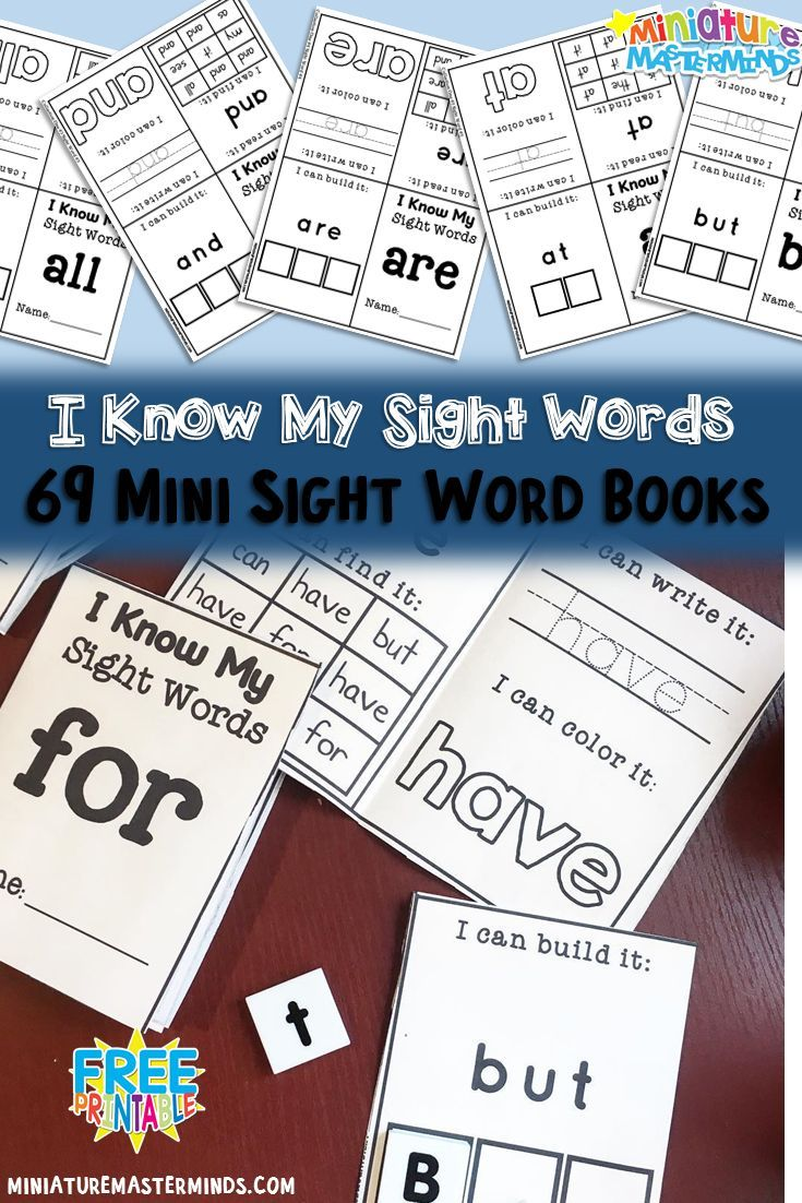 651 best sight words images on Pinterest | Beds, English and For kids
