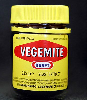 Vegemite...great on toast with butter...mmm