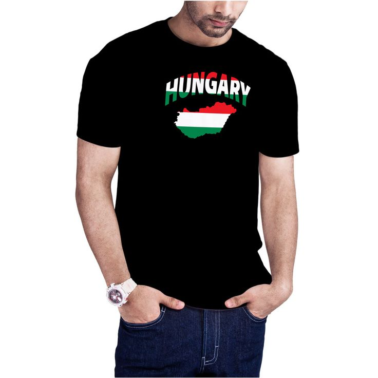Men's Hungarian Flag Map t-shirt Hungary Europe t-shirt by Calidreamers on Etsy