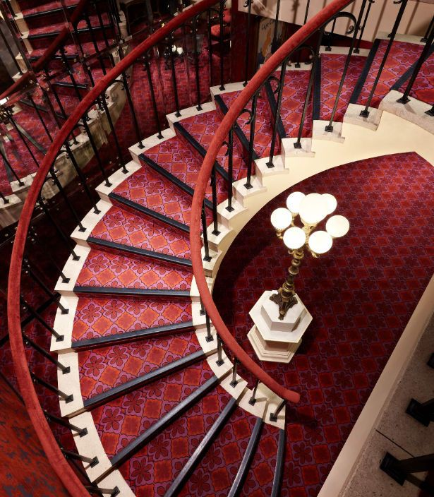 Le Caf 'Conc' - Staircase @ Montreal Marriott Chateau Champlain - H3B 4C9