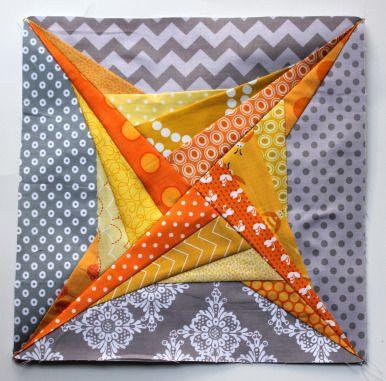#free paper piecing pattern Paper pieced quilt block pattern