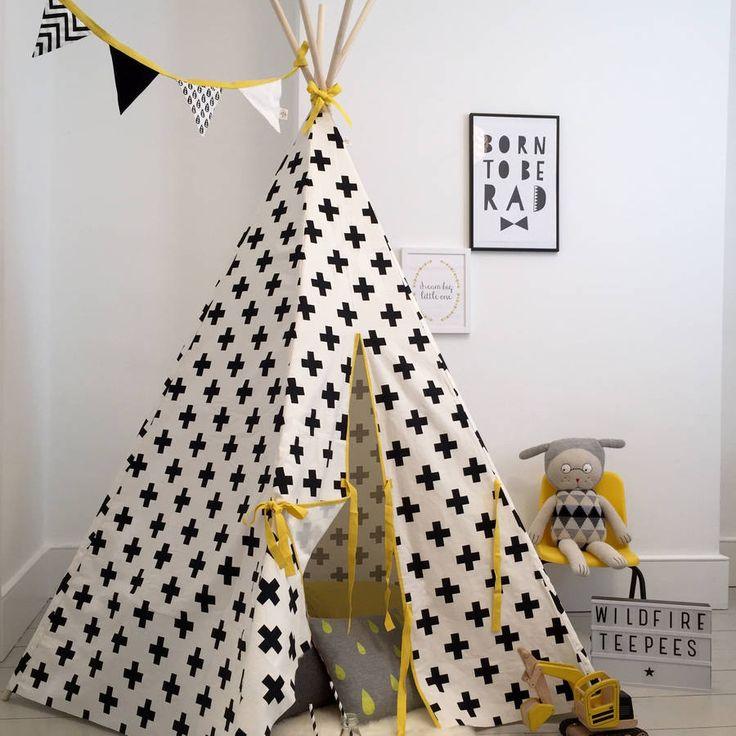 les 96 meilleures images propos de tipi et tente enfant. Black Bedroom Furniture Sets. Home Design Ideas