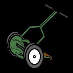 scotts push reel lawn mower manual