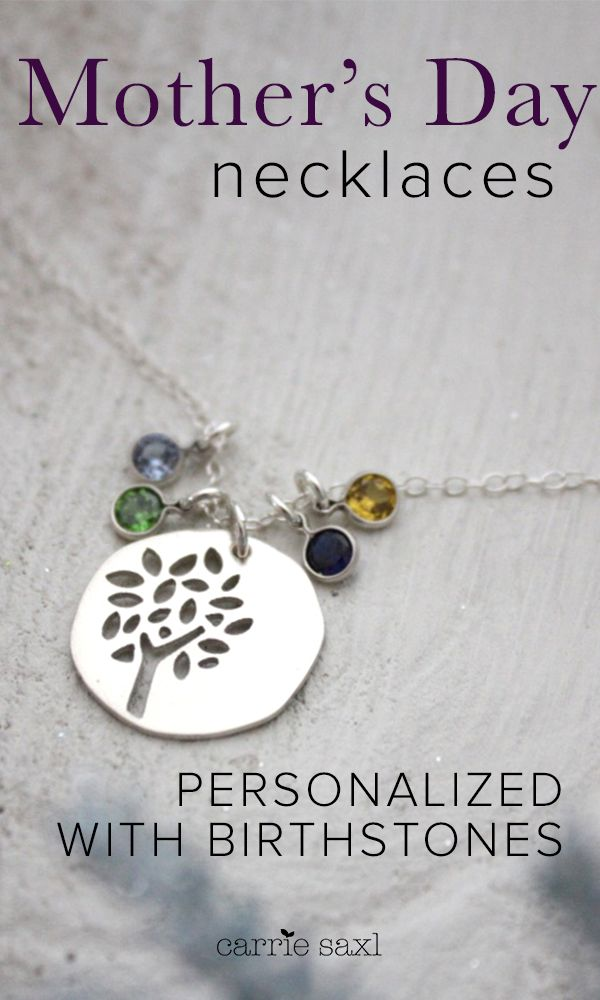 Give her a Motherís Day gift  sheíll love this holiday. From the Family Tree Necklace for those who value family above all else or the Droplets Necklace that represent a bond between mother and daughter that can never be broken, find personalized jewelry thatís both fashionable and special today.