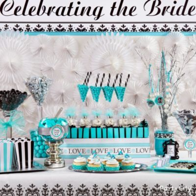 Sarah, what do you think of this Candy Buffet/Bar?? It's from Party City........................Candy Buffet Ideas: Robin's Egg Blue Bridal Shower - Party City