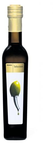Migros Sélection Olivenöl extra vierge #packaging #oliveoil #oil #bottle