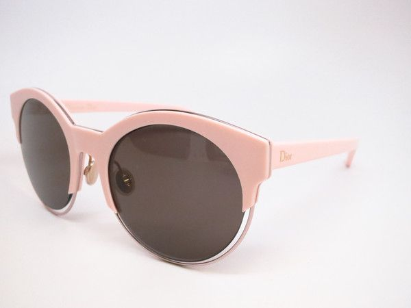 Dior Sideral 1 J6EL3 Pink Round Womens Sunglasses - Add this one to your Wishlist! - Free United States S&H - Lowest Prices on Name Brand Fashion Eyewear Online