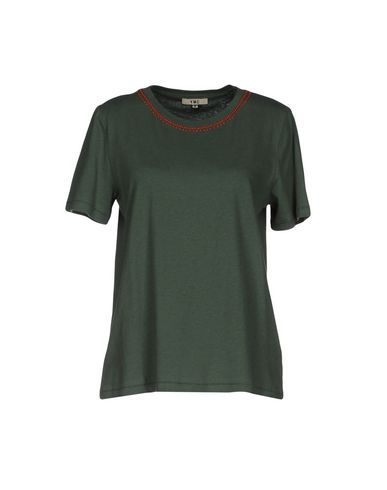YMC YOU MUST CREATE Women's T-shirt Military green XS INT