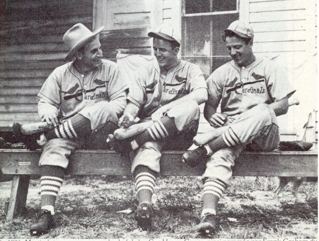 1936 Spring Training with Pepper Martin, Terry Moore, and Joe Medwick