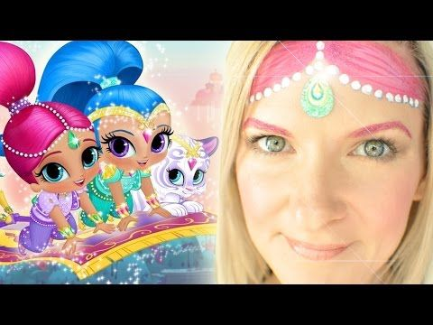 Nick Jr. Shimmer and Shine Face Painting Tutorial: Shimmer - YouTube