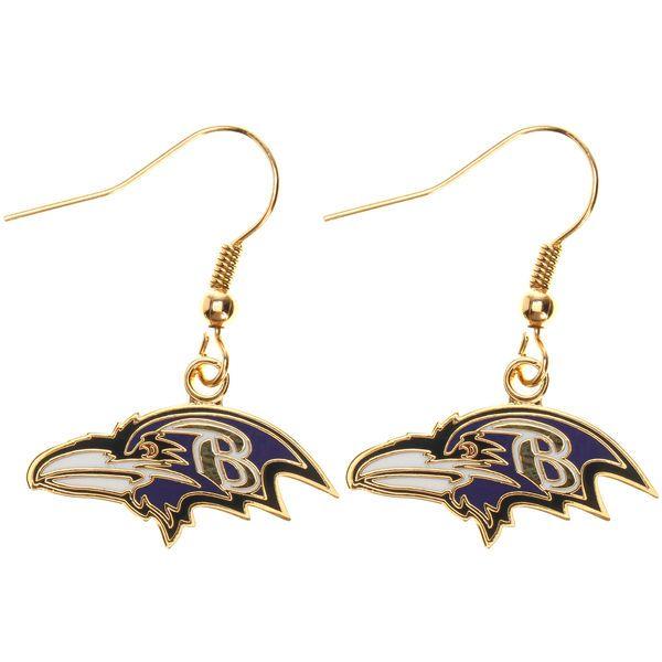 Baltimore Ravens Logo Wire Earrings, $7.99