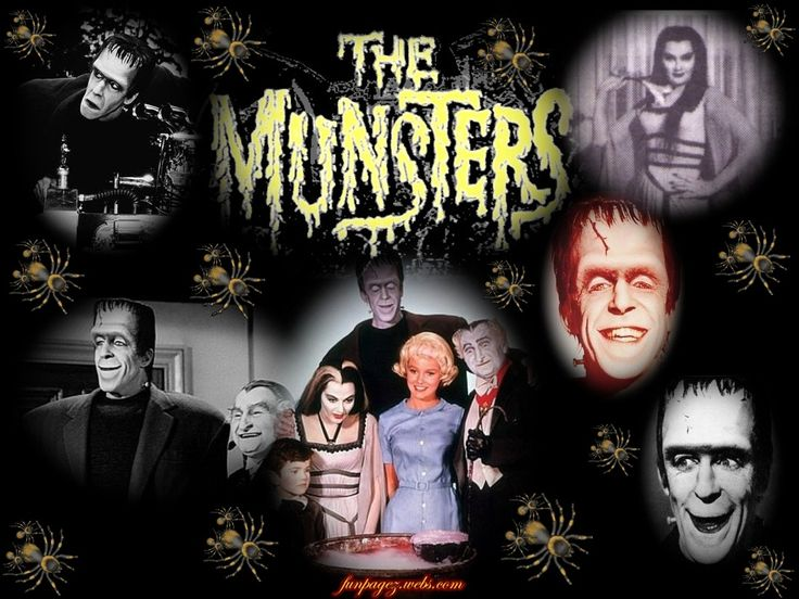 julia tv show from the 60's and 70's | The Munsters, a 60s Comedy TV Series about Monsters ~ Classic and New ...