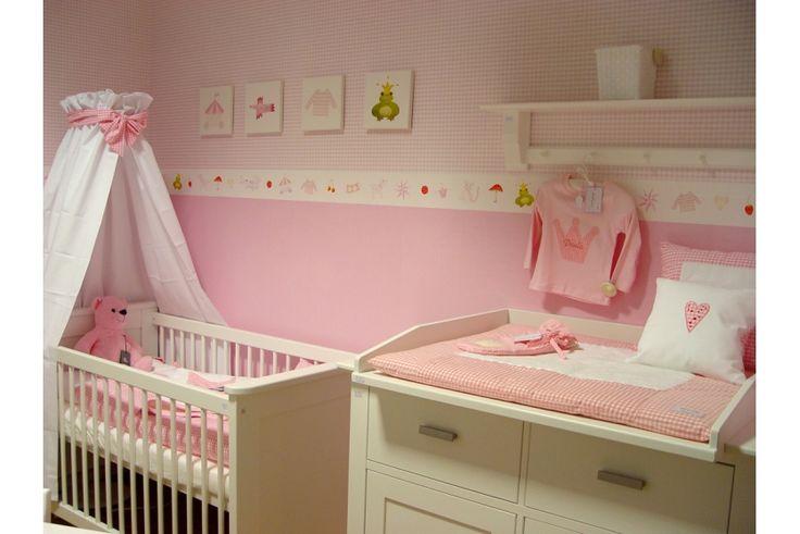 Isle of Dogs Selbstklebende Bordüre mit rosa/bunten Motiven bei ideen für babyzimmer   Today's Home Decorating Inspiration