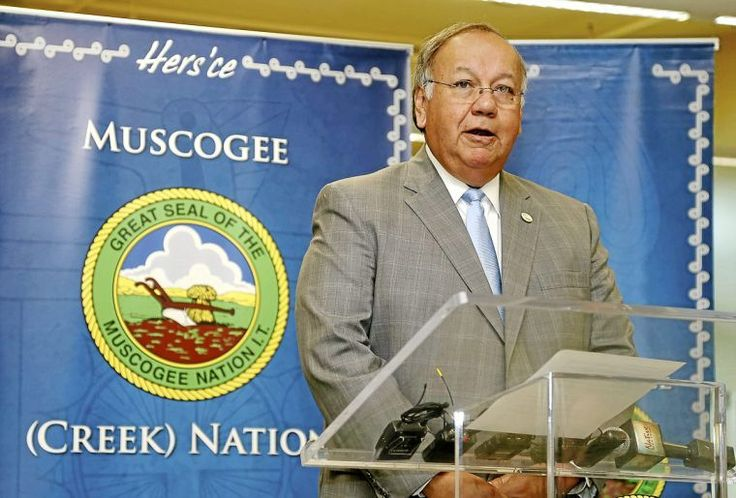 the principal chief of the Muscogee (Creek) Nation